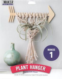 Leisure Arts Kit Mini Maker Macrame Arrow Plant Hanger