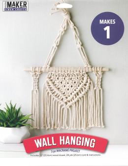 Leisure Arts Kit Mini Maker Macrame Wall Hanging