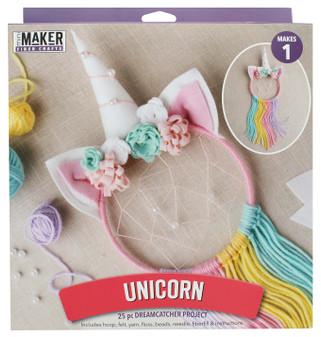 Leisure Arts Kit Mini Maker Dreamcatcher Unicorn