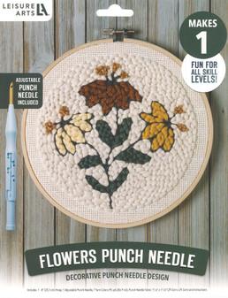 Leisure Arts Kit Mini Maker Punch Needle Flowers