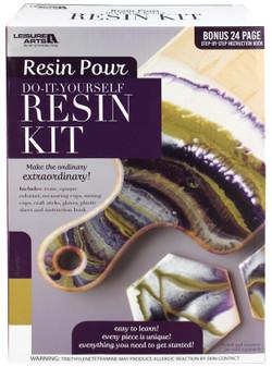 Leisure Arts Resin Pour Kit Purple