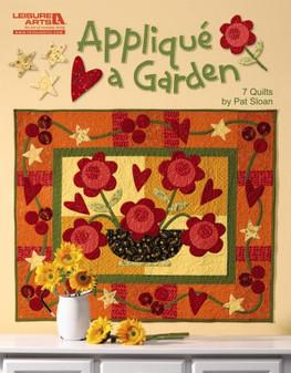 Leisure Arts Applique A Garden Book