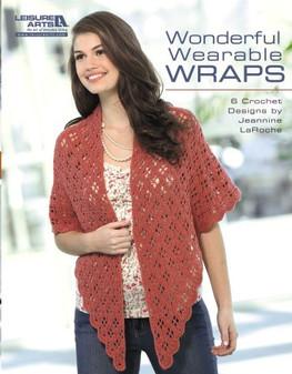 Leisure Arts Wonderful Wearable Wraps Book