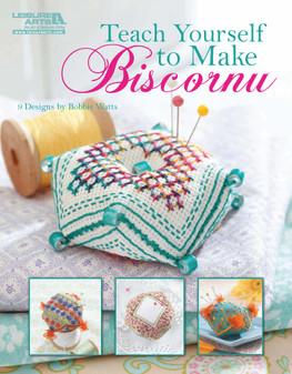 Leisure Arts Teach Yourself To Make Biscornu Embroidery Book