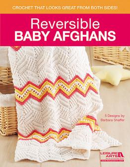 Leisure Arts Reversible Baby Afghans Book