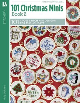 Leisure Arts 101 Christmas Minis #2 Book