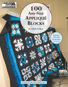 Leisure Arts 100 Any-Size Applique Blocks CD & Book