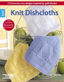 Leisure Arts Knit Dishcloths Book