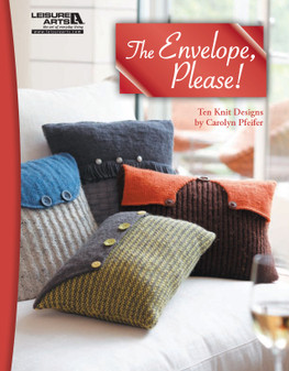 Leisure Arts The Envelope Please Knit Book
