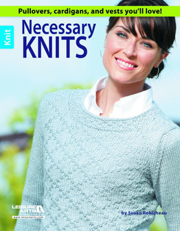 Leisure Arts Necessary Knits Book