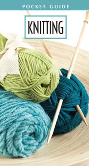 Leisure Arts Knitting Pocket Guide Book