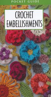 Leisure Arts Crochet Embellishments Pocket Guide Book