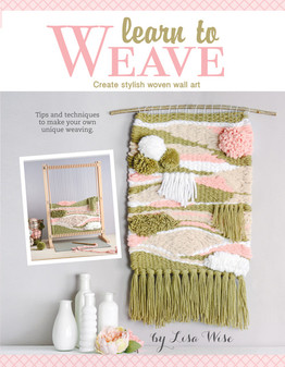 Leisure Arts Learn To Weave Laminated Book
