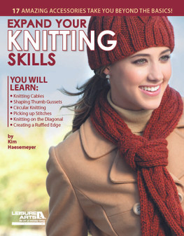 Leisure Arts Expand Your Knitting Skills Book
