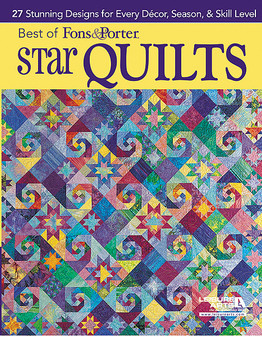Leisure Arts Best Of Fons & Porter Star Quilts Book