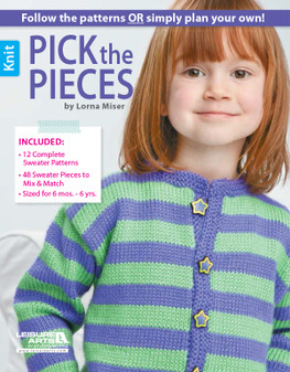 Leisure Arts Pick the Pieces Knit Book