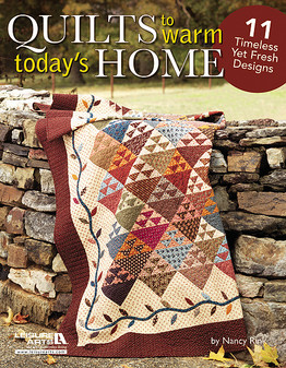 Leisure Arts Quilts to Warm Today's Home Book