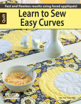 Leisure Arts Learn To Sew Easy Curves Book
