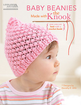 Leisure Arts Baby Beanies Made With The Knook Knit Book