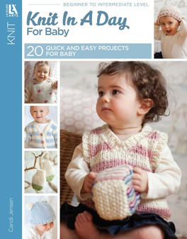 Leisure Arts Knit In A Day For Baby