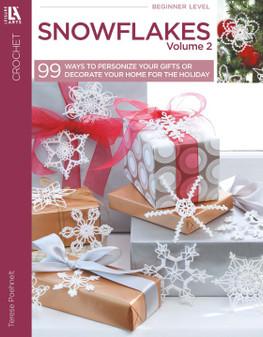 Leisure Arts 99 Snowflakes Volume 2 Crochet Book