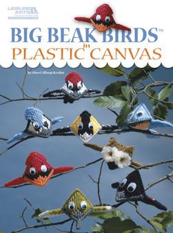Leisure Arts Big Beak Birds In Plastic Canvas Book