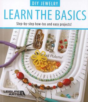 Leisure Arts DIY Jewelry Learn The Basics Book