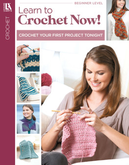 Leisure Arts Learn To Crochet Now Book