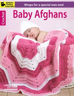Leisure Arts Crochet Baby Afghans Book
