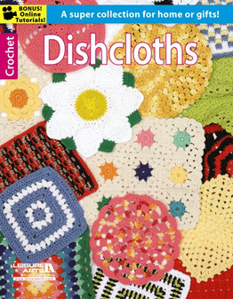 Leisure Arts Crochet Dishcloths Book