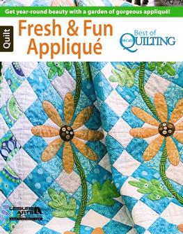 Leisure Arts McCall's Quilt Fresh & Fun Applique Book