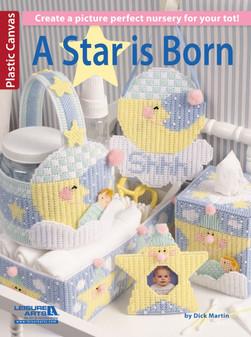 Leisure Arts Plastic Canvas A Star Is Born Book