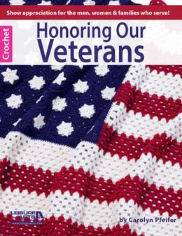 Leisure Arts Honoring Our Veterans Crochet Book