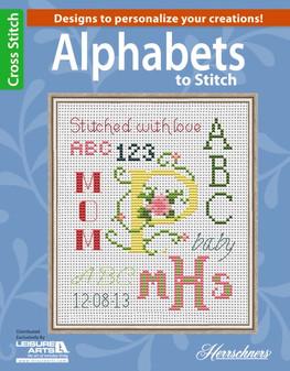 Leisure Arts Alphabets To Stitch Book