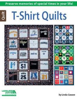 Leisure Arts T-Shirt Quilts Book