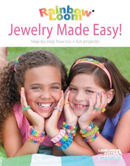 Leisure Arts Rainbow Loom Jewelry Made Easy! Book-