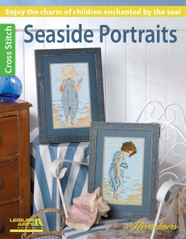 Leisure Arts Herrschners Seaside Portraits Cross Stitch Book