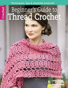 Leisure Arts Beginner's Guide to Thread Crochet Book