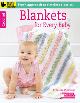 Leisure Arts Blankets For Every Baby Crochet Book