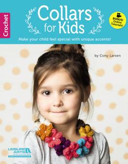 Leisure Arts Collars For Kids Crochet Book
