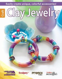 Leisure Arts Clay Jewelry Book