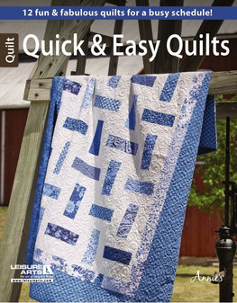 Leisure Arts Quick & Easy Quilts Book