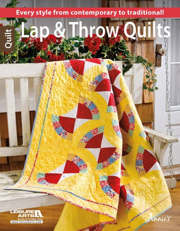 Leisure Arts Lap & Throw Quilts Book