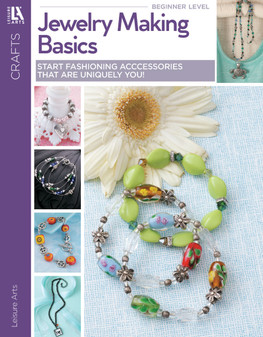 Leisure Arts Jewelry Making Basics Book