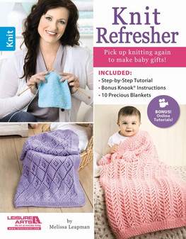Leisure Arts Knit Refresher Book