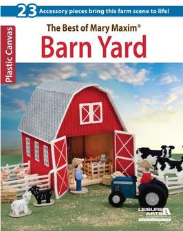 Leisure Arts The Best Of Mary Maxim Barn Yard Plastic Canvas Book