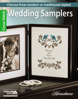 Leisure Arts Wedding Samplers Book