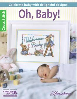 Leisure Arts Oh, Baby Cross Stitch Book