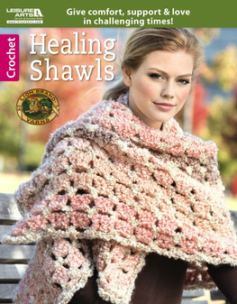 Leisure Arts Healing Shawls Crochet Book