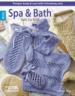 Leisure Arts Spa & Bath Sets To Knit Book